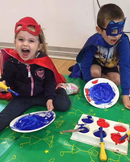 Child and family centres in Ely host half-term parties.