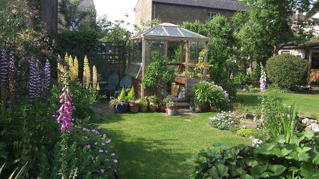 12 and 26 Chapel Street in Ely are two of five gardens that will open on June 10.
