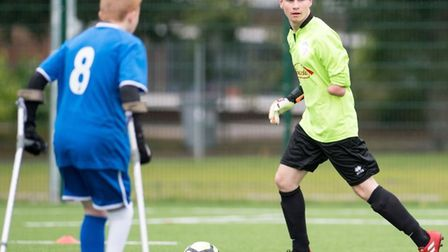 Kieran Lambourne, from Tilney St Lawrence near Wisbech, will be goalkeeper for England in Mexico thi