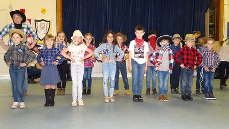 A taste of the Wild West came to March primary school Westwood. PHOTO: Clare Jerrom