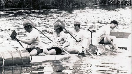 Organisers of Ely Aquafest appealed for photos from previous events. Sue Reeder in this photo rememb
