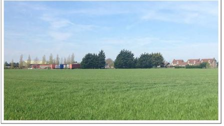 Mildenhall Road, Fordham. Gladman Developments was refused consent for 100 homes on the site but app