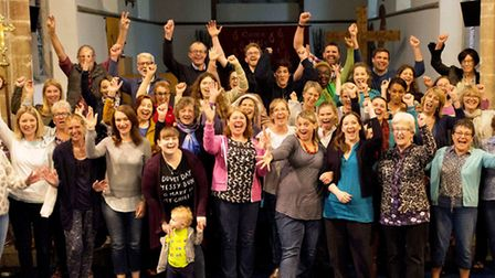 Ely Pop Up Gospel Choir hopes to break fundraising record with charity concert. PHOTO: This Is Photo