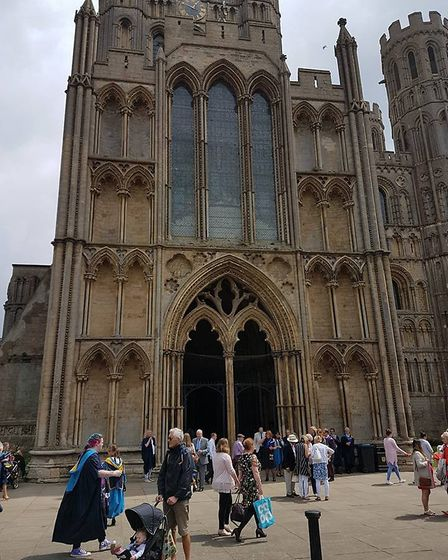 Over £3,000 has been raised for Ely Cathedral's Choir Tour Fund at the annual Etheldreda Craft and F