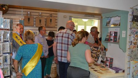 Hundreds visited Ely Museum on the weekend beginning Saturday June 2 as they opened their doors and