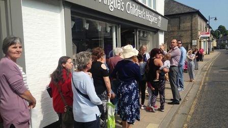 EACH charity shop opens at Soham. It was officially opened by the High Sheriff of Cambridgeshire, Dr