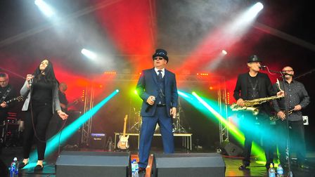 Scooted N Booted - Saturday's entertainment at the 2018 March Summer Festival proved to be a big hit