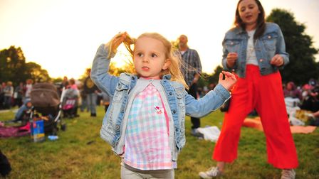 Saturday's entertainment at the 2018 March Summer Festival proved to be a big hit. Photo(s): HARRY R
