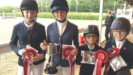 The equestrian team who qualified