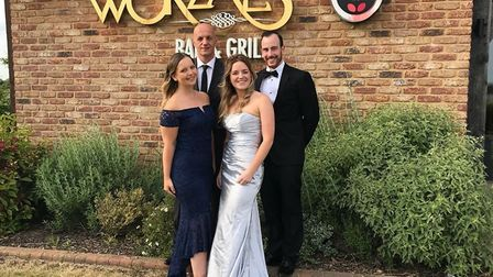 Worzals Bar and Grill collect Restaurant of the Year at the Cambridgeshire SME Business Awards