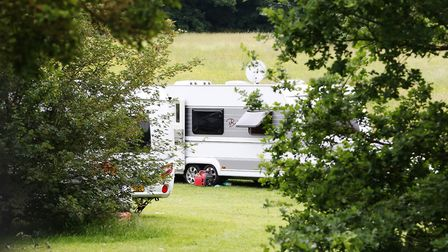 Travellers have set up site in Ely