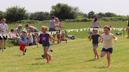 Coveney fun and sports day was organised by the village hall committee and attracted a good crowd fo