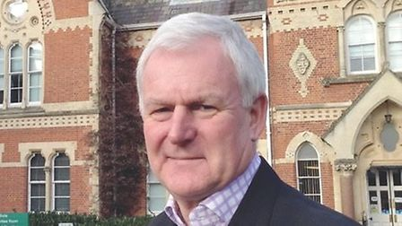 Councillor Howard Rolfe, chairman of the Planning Policy Working Group and leader of Uttlesford Dis