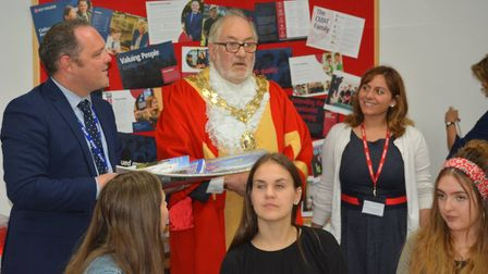 Students from Bozen in Italy have come to Ely as part of an exchange programme – they've already tak
