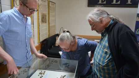 Ely Museum held a pop-up exhibition with Oxford Archaeology on Saturday June 9. PHOTO: Mike Rouse