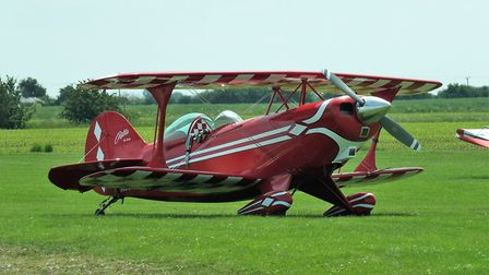 Pitts S-2A, N-80035, flown by the Fenland Trophy winner. Picture(s): Alastair Goodrum