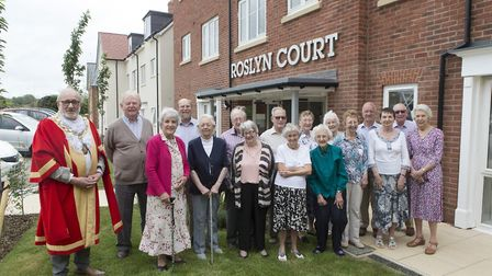 Roslyn Court grand opening day in Ely.