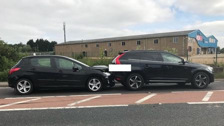Police collision at Guyhirn