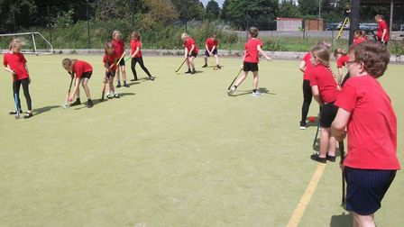 Wisbech Town Hockey Club have teamed up with Peckover School