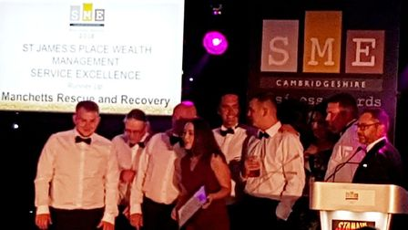 Burwell-based Manchetts Rescue and Recovery named runner-up for service excellence, The team at Newm