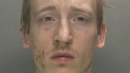 Liam McCarthy, 28, was serving a 17-year sentence at HMP Littlehey at the time of the attack. PHOTO: