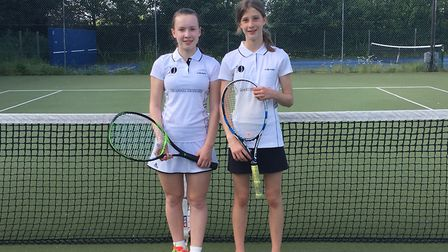 Alisa and Disa wasted no time on Sunday to clinch victory in their match against Peterborough A.