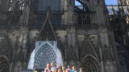 King's Ely Junior's Chamber Choir wowed audiences during their tour to Cologne.