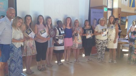 Rebecca Bradshaw from March has won a netball coach award at a regional ceremony this weekend. Pictu