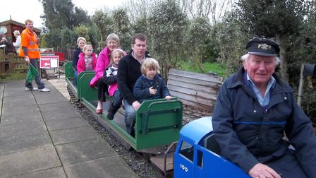 Dunham Woods Light Railway to open in aid of Macmillan Cancer Support. PHOTO: Facebook.