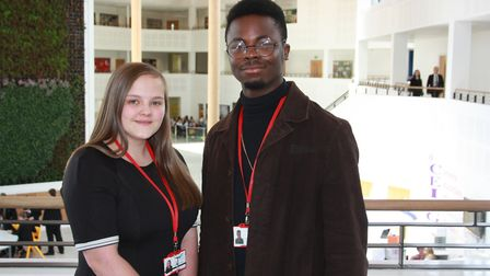 Charlotte Cameron and Sebastian Njingo have been chosen to help host the Responsible Business Awards