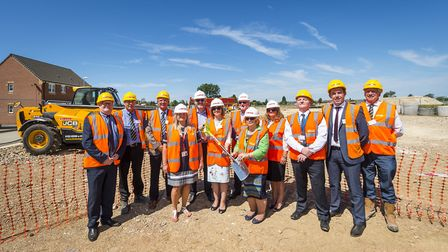 Official start of work at Willow Care Home in Whittlesey