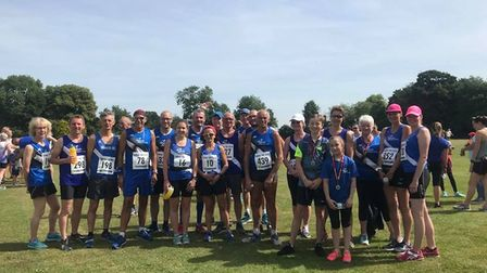 March AC took part in the Abbey 10k race at Ramsey this weekend