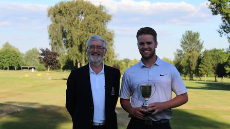 Men's captain Greg Davidson (left) and Isaac Rowlands (right) - More than 60 members of the Ely City