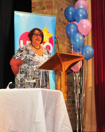 Naomi Sherwood at the Ely Hero Awards 2018 held at The Maltings in Ely. Picture(s): HARRY RUTTER