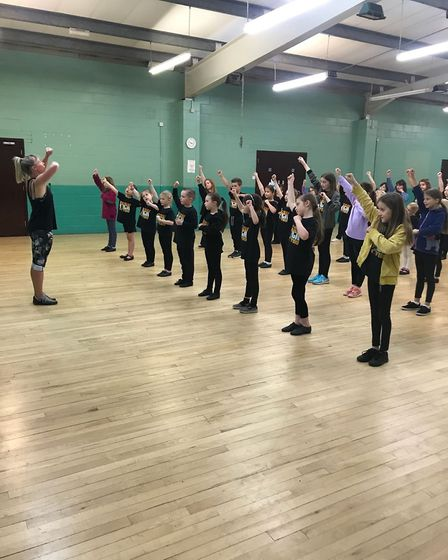 KD Theatre group in rehearsals for We Will Rock You
