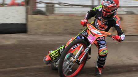 Drew Kemp top-scored for Mildenhall Fen Tigers as they were beaten at Eastbourne. Picture: DEREK LEA