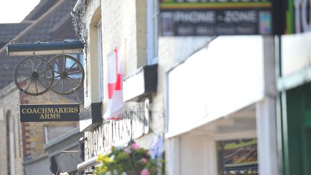 Hundreds of pounds have been stolen from the Coachmaker's Arms pub in March following a break-in on