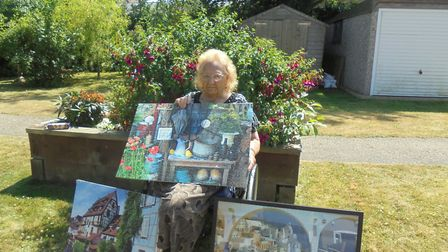 Doris Woods, the 90 year old puzzle perfectionist from a Whittlesey care home.
