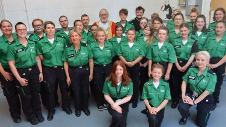 Ely St John Ambulance cadets Oscar Barter and Alex Baldock, both 15, raised £750 by completing a 100