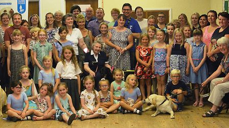 March dance school raises £2,000 for Guide Dogs Association and adopts a puppy. PHOTO: Vera Frances.