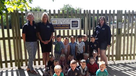 Gorefield Pre-School was praised by Ofsted in all four areas of inspection following the visit in Ma
