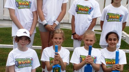 Witchford girls kwik cricket team marches on to national finals