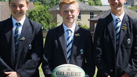 King's Ely students Bertie Whymark, Daniel Kember and George Nearney have been selected to join the