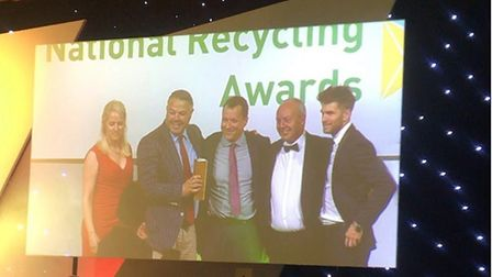 An Ely based waste management company is celebrating after being named Independent Operator of the Y