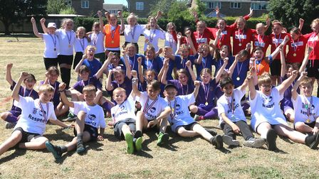 Whittlesey primary schools held a festival of girls football as part of the funding from the Burnt H