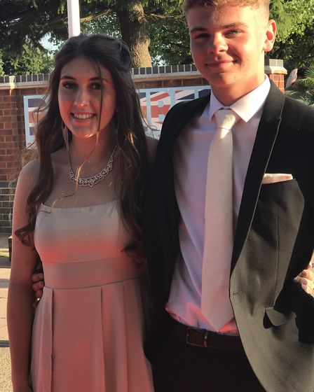 Students arrived in style at the Witchford Village College's Year 11 leavers' prom. Picture: Submitt