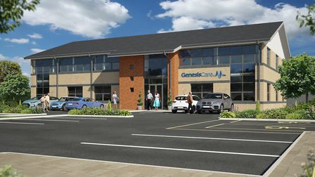 GenesisCare opens a new £7 million cancer care centre in Newmarket