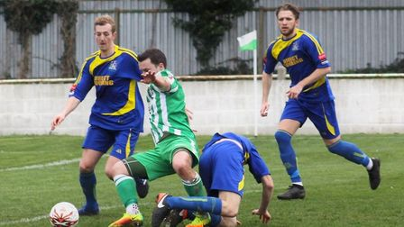 Sam Mulready has committed to another season with Soham Town Rangers. Picture: ANDY BURFORD