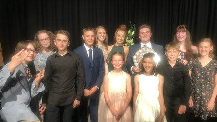 Young musicians of the year at Soham Village College.PHOTO: Soham Village College
