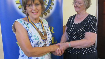 Julia Smith is the new president of the Inner Wheel club in Ely. PHOTO: Inner Wheel Club